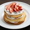 ベーキングパウダーなしで作るパンケーキ(ホットケーキ)のレシピ