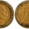 ハンガリー1907年 フランツ ヨーゼフ戴冠40周年100コロナ金貨NGC PF63