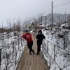 冬のモンゴルはふわふわ