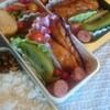 秋鮭の照り焼き弁当