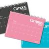 卓上カレンダーとして使いスケジュール手帳として持ち運ぶ「キャンパスダイアリー・マンスリー 卓上タイプ」