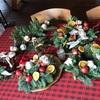 クリスマスリースと紅茶パーティー
