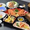 蟹料理の写真撮りでした。
