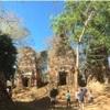 コーケー遺跡群のプラサットプラムとプラサットトム★カンボジア