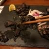 珍しい冷たい炭火焼き焼き鳥? 時間に余裕のある人にお勧めの黒い焼き鳥、黒かしわ
