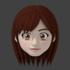 顔のモデリングの超詳細手順 その8(完) 髪を作る!:Blender