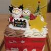 今年のクリスマスケーキ(12/23)