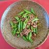 お肉をマリネする、このひと手間で炒め物がワンランクアップ!<牛肉とスナップエンドウのオイスター炒め>