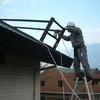 南側屋根再塗装