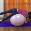 バランスボールで背中を引き締めよう!エクササイズ後はプロテインで効率よくシェイプアップ!