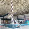 【萩中公園プール】年中泳げる!流れるプール!