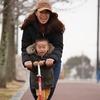 垂水健康公園で自転車とキックボードで遊んできた!