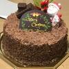 洋光台の「モンシェリー」でクリスマスチョコケーキ
