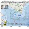 2017年09月09日 19時51分 浦河沖でM4.0の地震