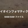 BAM/SAMファイル - アライメント情報を格納するためのフォーマット