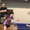 決勝4リーグ、一戦目一番。卓球インターハイ三重県大会・学校対抗戦