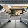シリコン洗車の完了報告