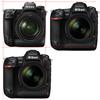 Nikon Z9とNikon D5の大きさ比較。