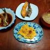 幸運な病のレシピ( 2245 )朝:魚(イワシと鮭)、イワシ煮つけ、卵焼き