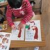 2年生:手形、足形を使って描く