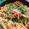 低糖質トースター焼き!粉なしお好み焼き(動画レシピ)/Okonomiyaki baked in a toaster.