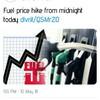 燃料値上げからのバス運賃値上げ