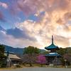 京都・嵯峨野 - 嵯峨釈迦堂の春の報せ