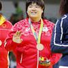 柔道女子78キロ超級、山部佳苗が銅メダル