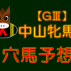 【GⅢ】中山牝馬S【的中‼◎ロザムール】