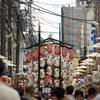 祇園祭ムードの京都散策