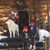 GOTOキャンペーン 子連れ 双子 黒姫高原でスノーボード後、ペンションで一泊