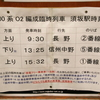 長野電鉄3500系O2編成臨時列車(乗車)