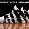 発売中 ナイキ エアモア アップテンポ ホワイト/ブラック-バーシティ レッド - NIKE AIR MORE UPTEMPO WHITE/BLACK-VARSITY RED (414962-105)