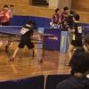 由井選手・竹原選手 組(21クラブ)が、なんとベスト16入り✨令和元年度 全日本卓球選手権・カデットの部