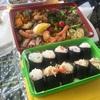 夜の寿司より昼の弁当