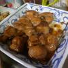 幸運な病のレシピ( 711 )夜:サンマ一夜干し、鮭白子、南蛮エビ・インゲン唐揚げ