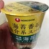 今日の即席麺この一杯。本場韓国海苔ラーメンカップ