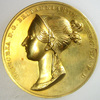 イギリス1838年ヴィクトリア女王戴冠ゴールドメダルNGC MS62
