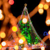 宮ヶ瀬クリスマスみんなのつどいでイルミネーション撮影