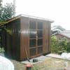 物置建て替え1−4(木造 簡易型)