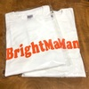 Bright Man ロゴTシャツ