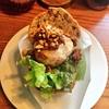 ごぼうを使ったしょっぱいマフィン!?西国分寺の有名カフェクルミドコーヒーでお食事メニュー。秋のクルミドサンドはきのこと鮭&さといもと肉味噌の2種類です!