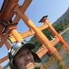 SUPで宮島ツーリング 「ジジイ海を渡る」 2017年10月9日