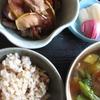 天日で干した野菜料理 ドーンと3種