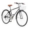 グリップを交換しました。クロスバイク・ACR7006 ARUN(アラン)/CYCLE PRO(サイクルプロ) MTBグリップ BKGYブラック×グレー HG207D2自転車
