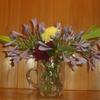 自分のために、花を飾る