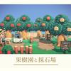 【あつ森】part20:自然区に果樹園と採石場を作る