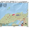 2016年12月01日 14時45分 鳥取県東部でM2.7の地震
