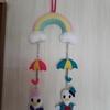 梅雨の飾りにしました・・・今頃(笑)そしてもうすぐ父の日&旦那の誕生日🎂