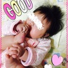 ☆ 生後185日 初めて足の指を舐める 赤ちゃん